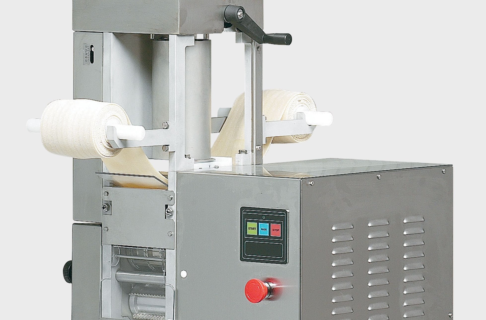 RV Line The mono-phase double sheet ravioli machines La Pastaia